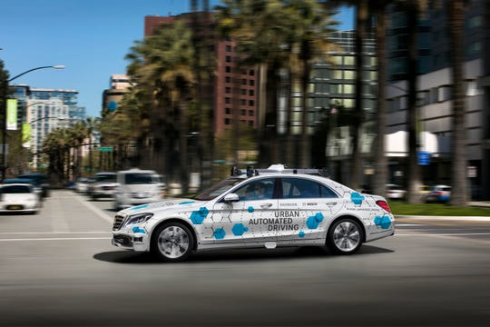 German automaker Daimler and supplier Bosch are collaborating to offer self-driving car rides in Mercedes-Benz S-Class vehicles in San Jose, California, in the second half of 2019.