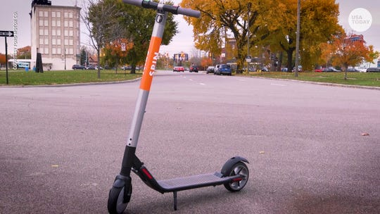 Spin, a company recently acquired by an arm of Ford Motor Co., will be one of two firms putting e-scooters on West Lafayette streets, under permits approved Tuesday, May 28, 2019.