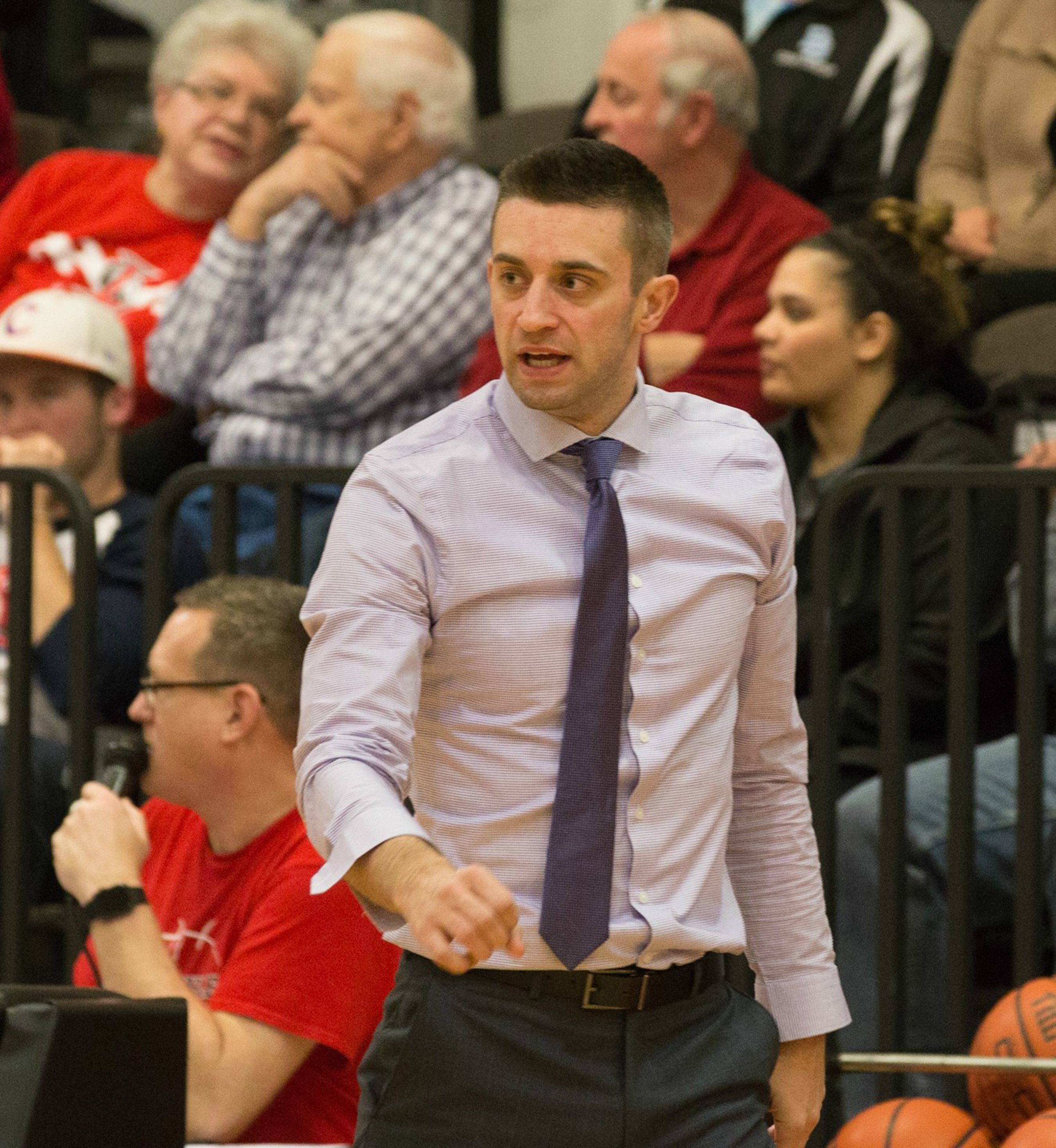 Zach Filzen is set to begin his first season as Lawrence University men's basketball coach.