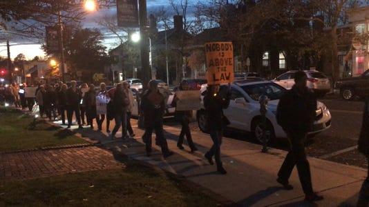 Toms River Protest