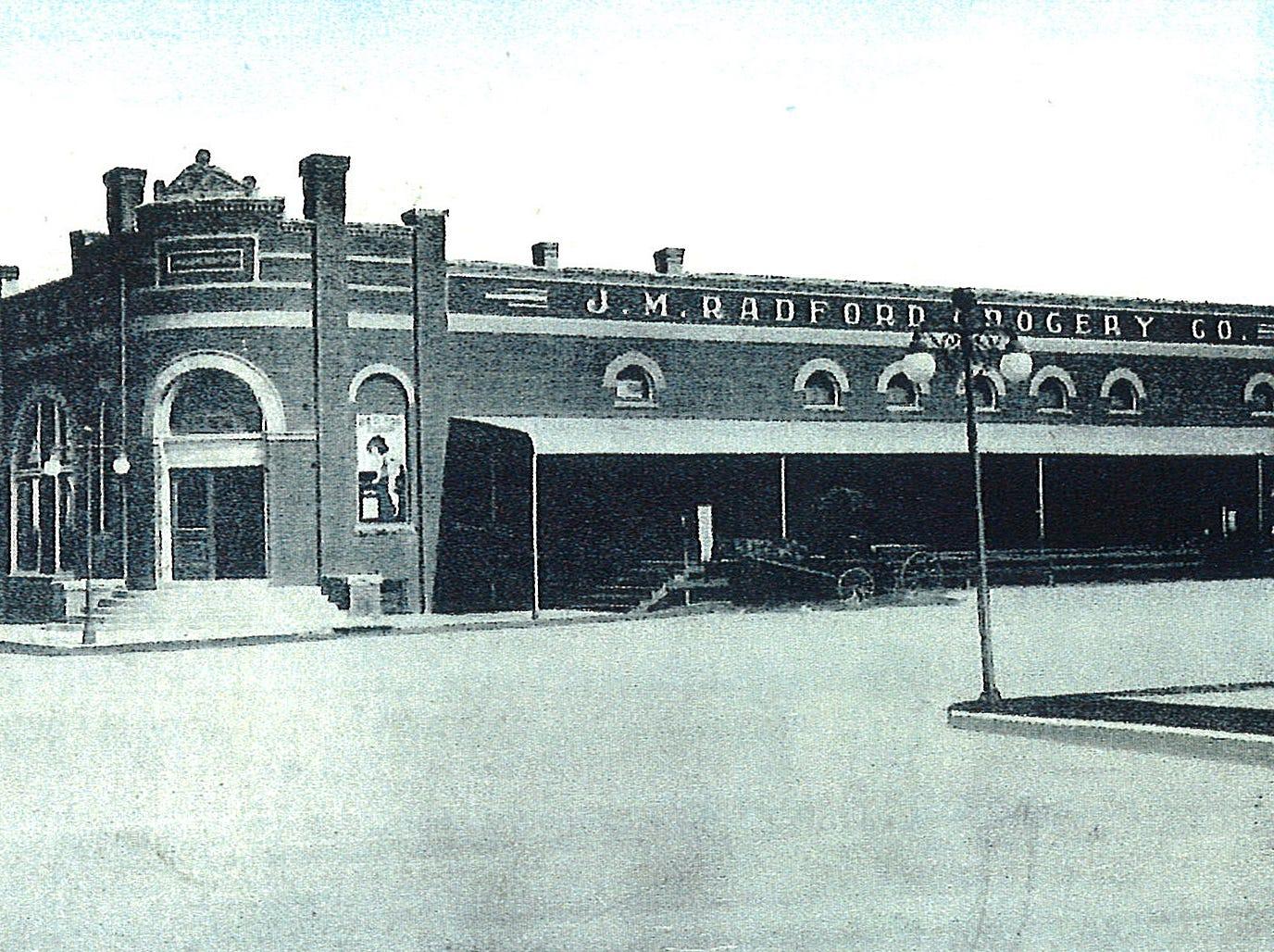 The J.M. Radford Grocery Company, circa 1910.