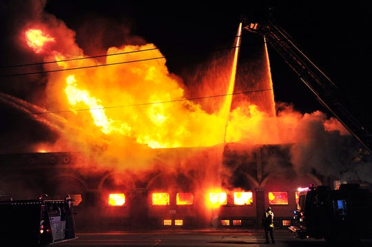 The 105-year-old Matera Paper Building burned Feb. 21, 2012. The site, however, may come back to life as an event venue.