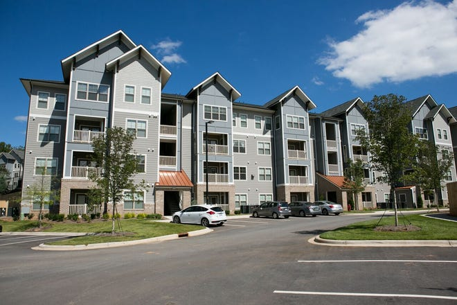 Asheville Exchange Apartments, a 312-unit complex near the Asheville Outlets, were acquired in October by California-based Passco Companies for $56.6 million.
