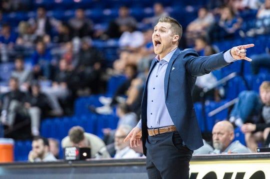 The UNC Asheville men's basketball team hosted St. Andrews for their season opener, defeating them 87-47, Nov. 8, 2018.