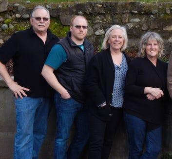 The Steelhead Bluegrass Band play Nov. 17 at the Olalla Community Club.