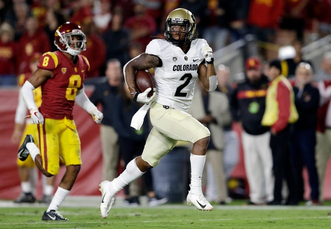 Colorado wide receiver Laviska Shenault Jr. said on social media that he expects to return to the field for this week's game against Washington State. Shenault has been sidelined since suffering a toe injury against USC.