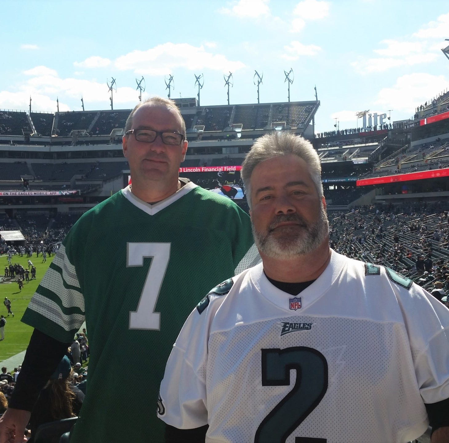 Black Mountain buddies continue tour of NFL stadiums