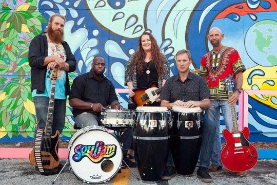 The band Souljam will perform at Sebastian Inlet State Park's Night Sounds concert series on Nov. 24, 2018.