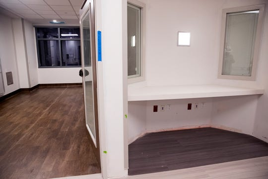 Christus Spohn Hospital Shoreline held a tour of their new Patient Care Tower on Thursday, November 8, 2018. The tower includes about 200 new patient beds, a new and larger emergency department, public space, chapel, among other additions. A new layout in the intensive care unit will allow for nurses to be positioned directly outside their patient's rooms.
