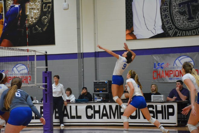Texas A&M-Kingsville's Madison Brabham was named Lone Star Conference Player of the Year and Offensive Player of the Year on Wednesday.