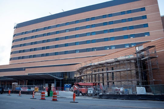 Christus Spohn Hospital Shoreline held a tour of their new Patient Care Tower on Thursday, November 8, 2018. The tower includes about 200 new patient beds, a new and larger emergency department, public space, chapel, among other additions.