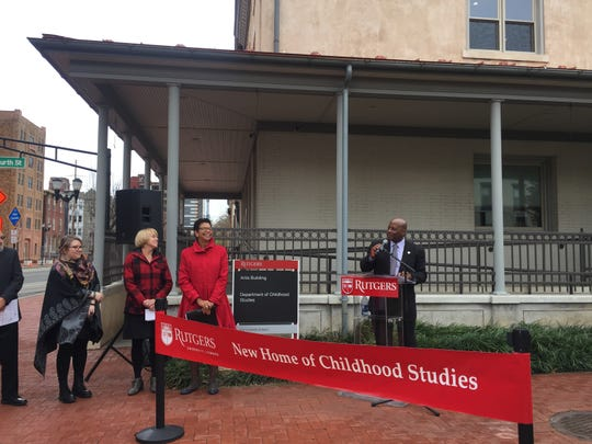 Assemblyman and Camden native Bill Spearman talks about his memories of the Rutgers-Camden campus.