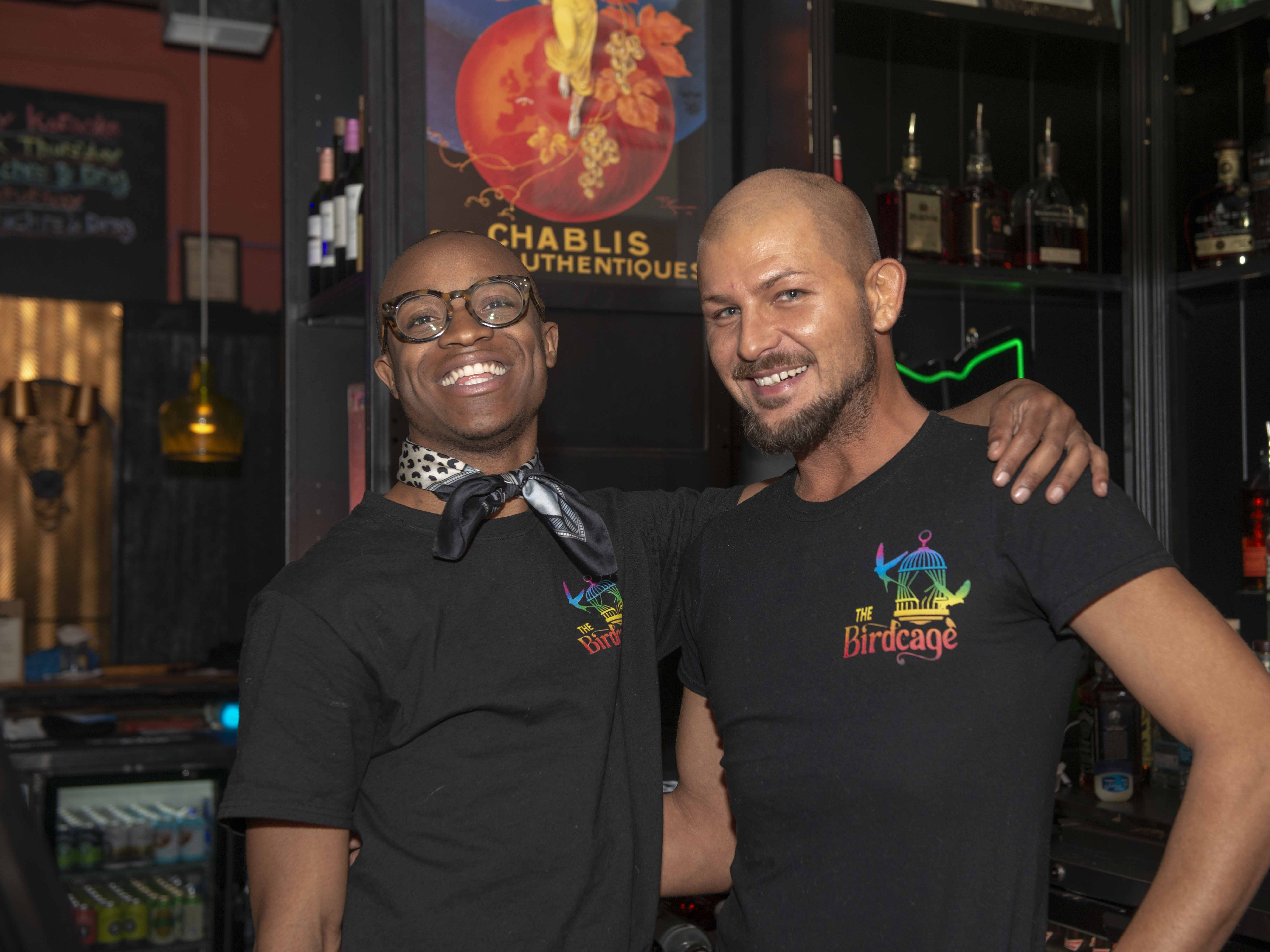 Assistant GM Anthony and bartender Josh.