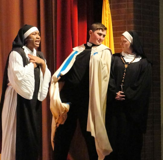 """Students from Mother Seton Regional High School will be performing """"Sister Act"""""""