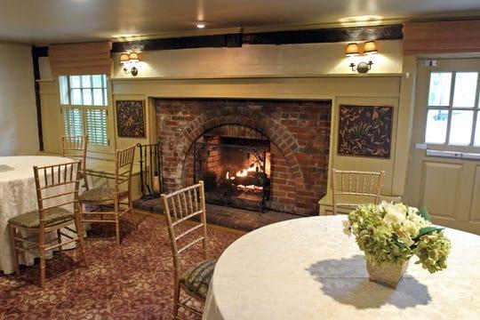 Inside the Grain House restaurant.
