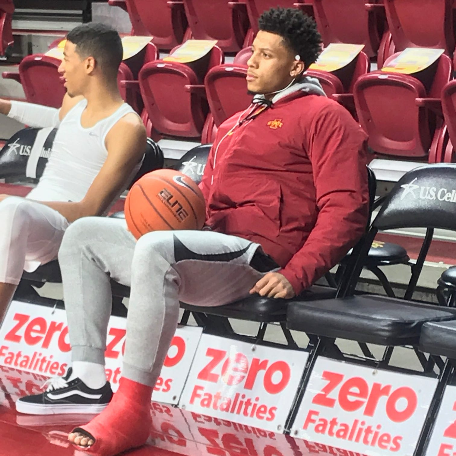 Iowa State star guard Lindell Wigginton out indefinitely with left foot strain