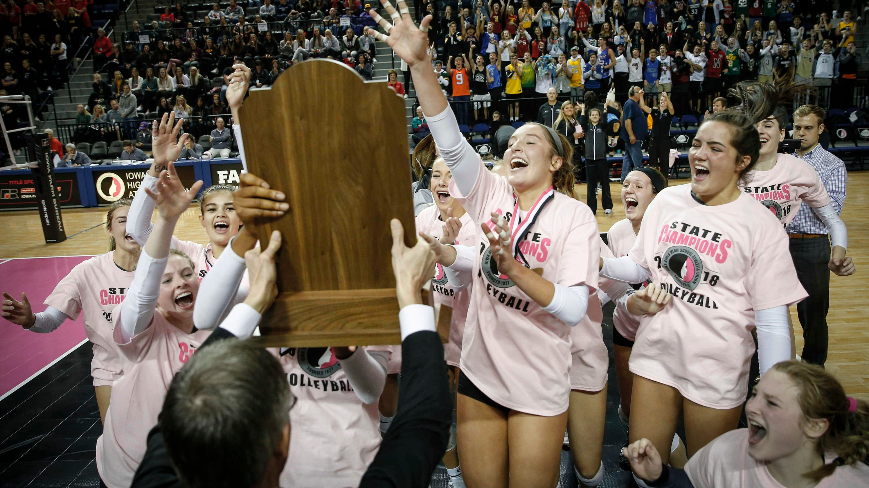 Ankeny Centennial wins fourth Iowa state volleyball title ...