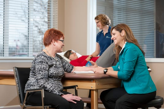 Team Rehab understands each patient's specific need by engaging with them.