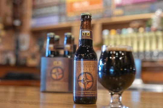 2018 Bourbon Barrel-Aged Expedition Stout from Bell's Brewery.
