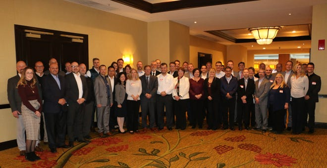 Regional onboarding workshop for an internal global project at the Detroit Marriott Troy on Tuesday, Nov. 6
