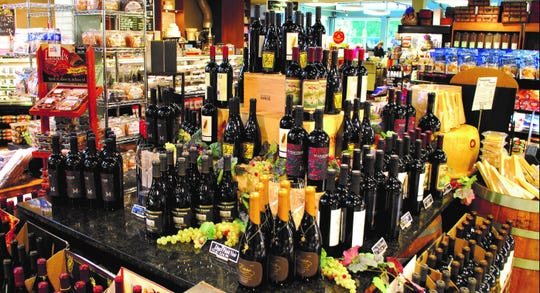Joe's has a wide selection of wines from all around the world and many choices from Michigan.