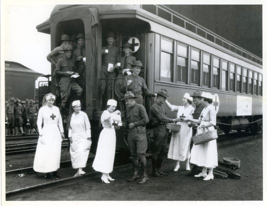 Soldiers Redcross Mcs C1917