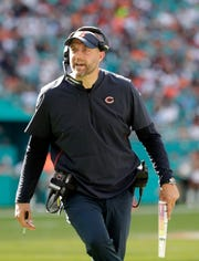 Matt Nagy has the Chicago Bears in playoff contention in his first season as head coach.