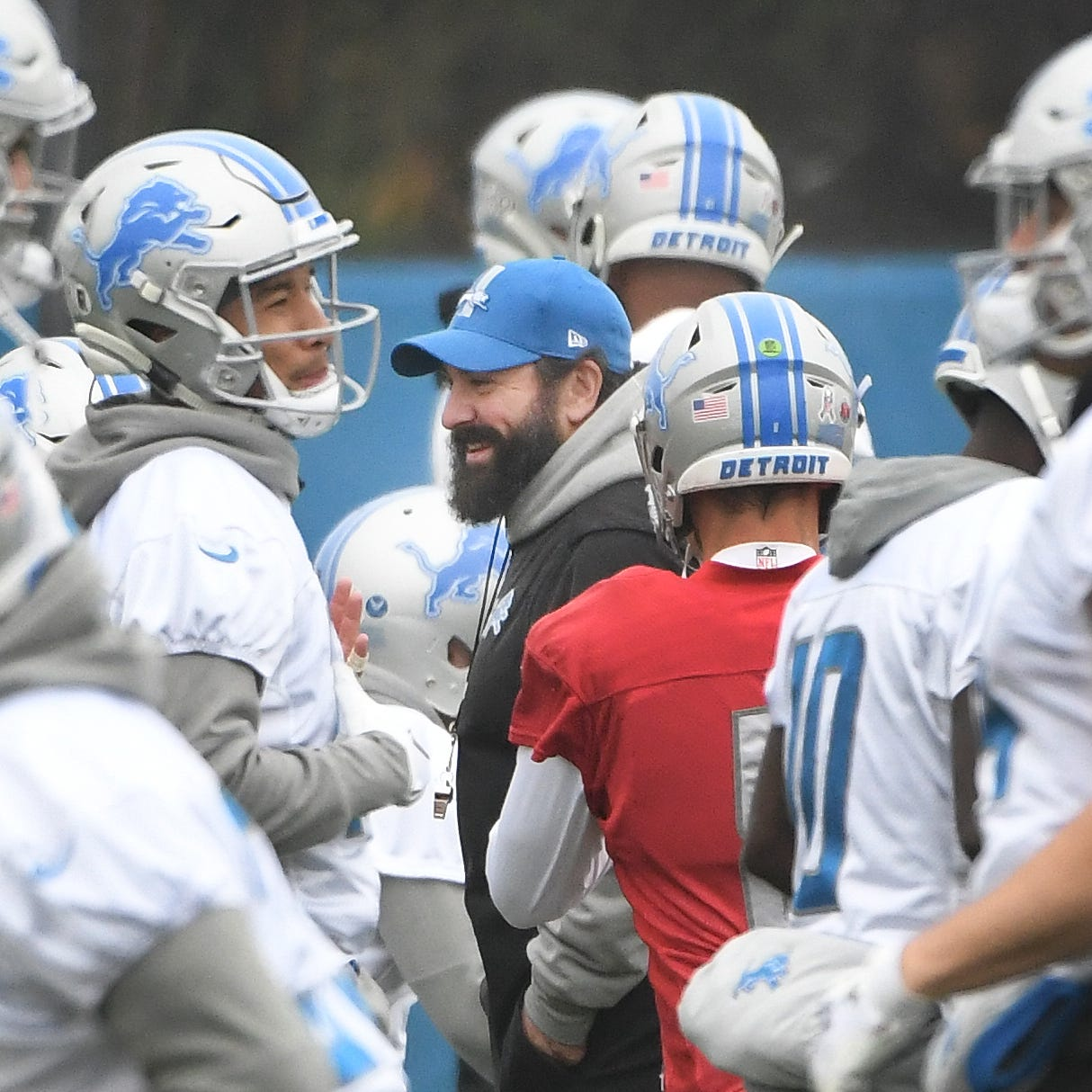 Lions' Patricia: No plan to take over play-calling duties