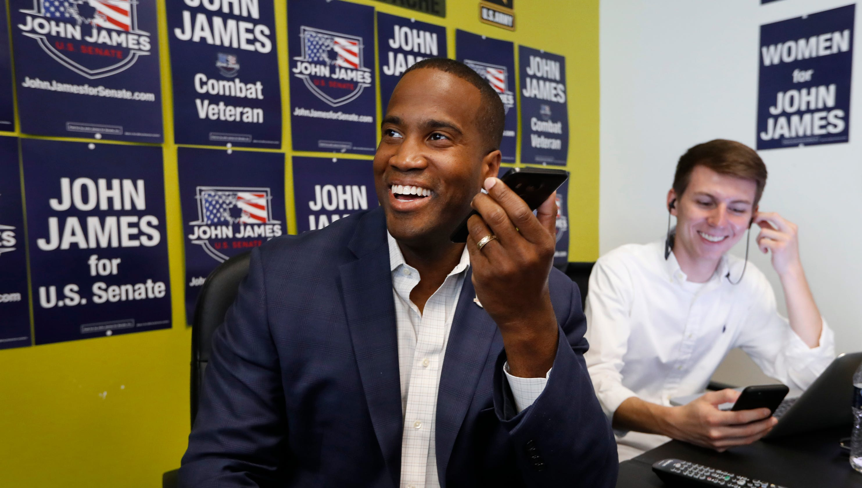 Senate candidate John James donates $1M portion of campaign donations