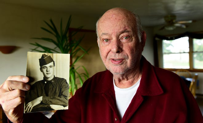Edward Foose, 87, of Fremont was drafted into the Korean War in 1952 at age 21. Stationed on the 38th parallel, he worked as a pole lineman, captain's driver and ran the PX store.