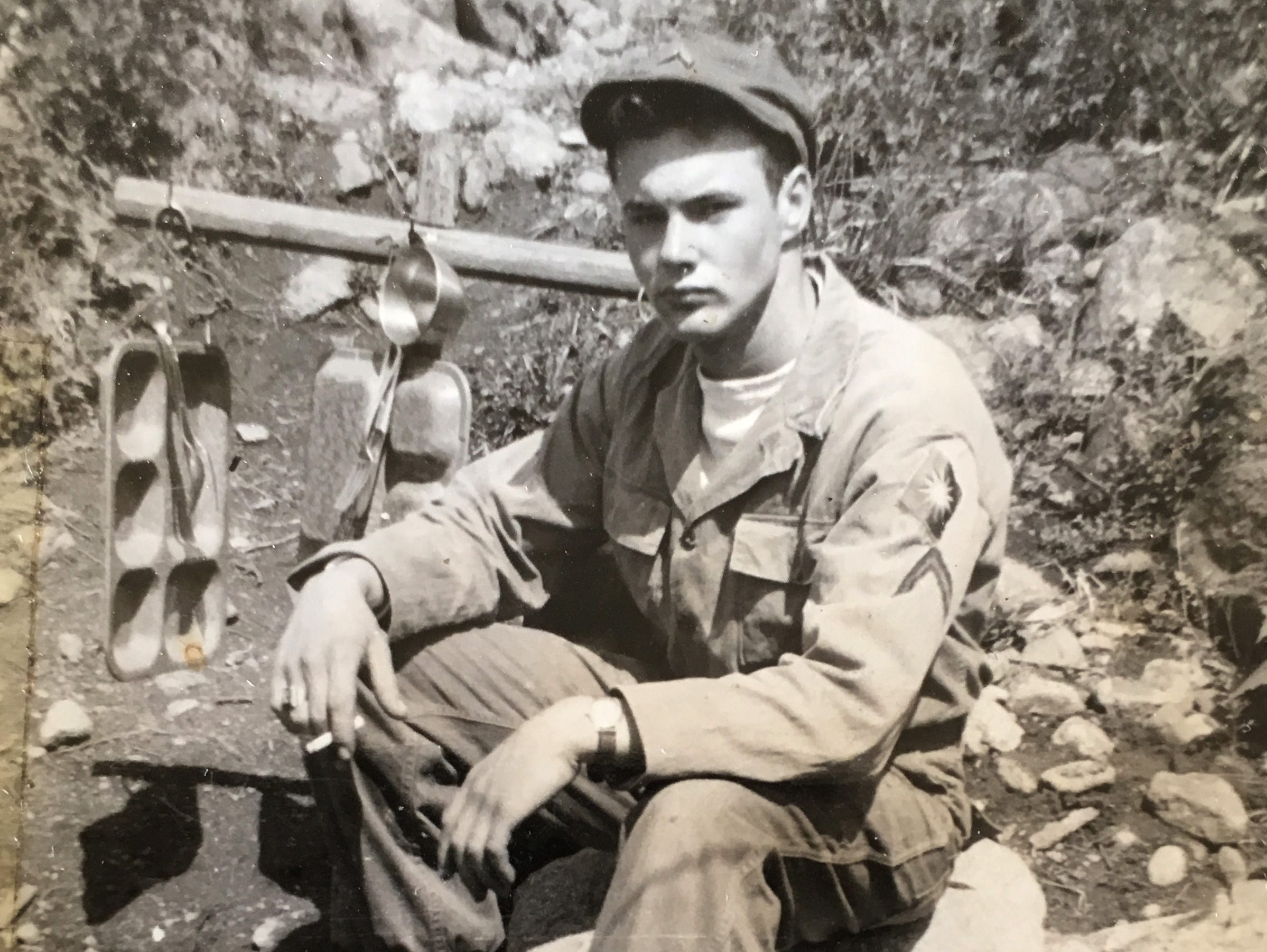 Edward Foose stayed on in Korea for roughly six months after the armistice signing and served in Army Reserves for six years after being discharged as a corporal. During his six months in Korea prior to coming home, Foose fixed up homes and helped rebuild.