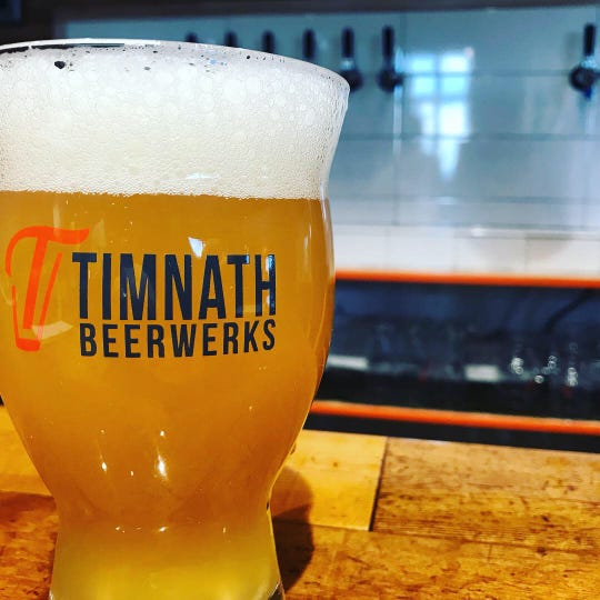 A hazy IPA from Timnath Beerwerks in Timnath, Colorado.