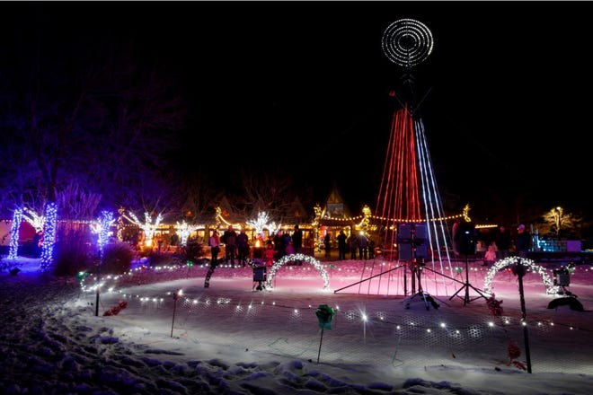 Brewery Lights at Anheuser-Busch Brewery will be back this weekend.