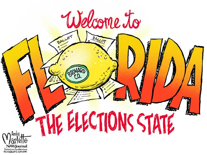Florida the elections state commentary from Andy Marlette