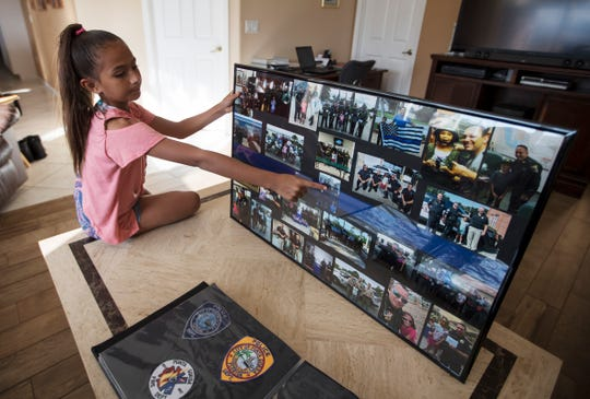 Selena Thier, 10, of Cape Coral, opted to forego birthday presents this year. Instead, she asked for donations to raise money to benefit the Fort Myers Police Department Fallen Officer Memorial Foundation. She raised $3,077.08.