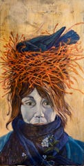 """New Matriarch,"" painting by Jeanne Kuhns, an Award of Excellence winner in the juried online Manhattan Arts International exhibit ""The Healing Power of Art."""