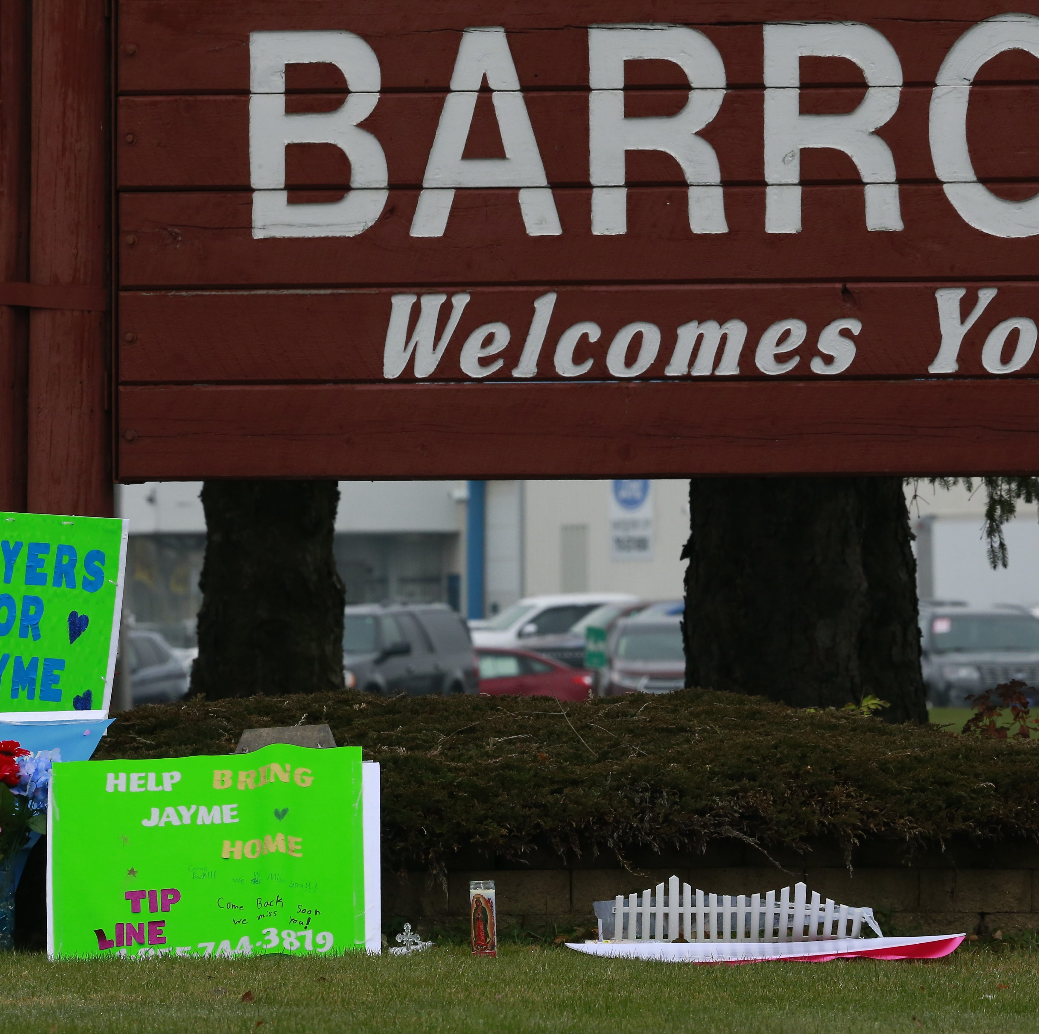 Barron in limbo as one month passes since Jayme Closs disappearance, parents' murders