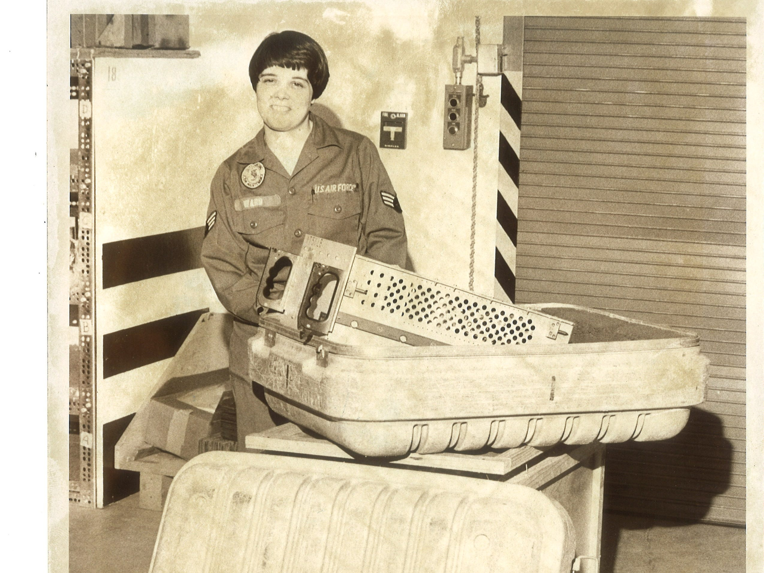 Life in Great Falls 40 years ago: United States Air Force equipment is moved