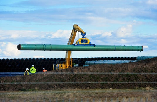 Keystone Xl Pipeline construction update