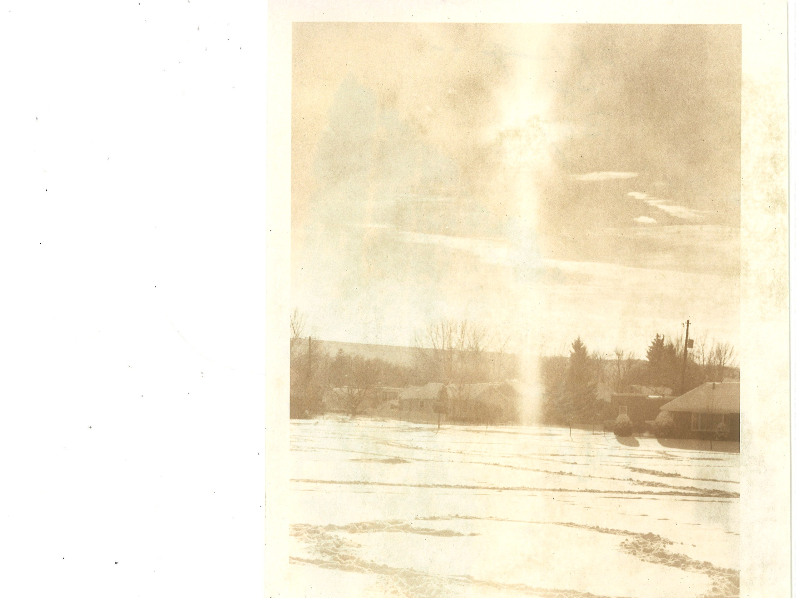 Life in Great Falls 40 years ago: The sun shines down on a snow covered Great Falls