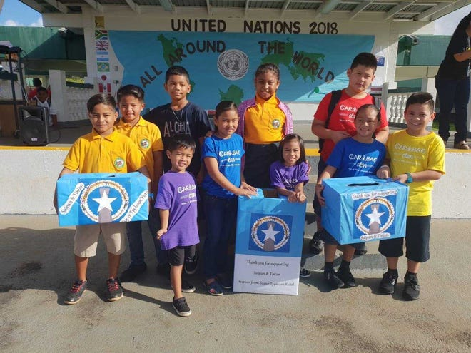 Maria A. Ulloa Elementary School contributed to Guam Department of Education efforts to raise funds to help with CNMI typhoon relief recovery.