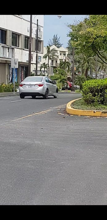 Corolla suspected in Guam purse snatching Oct. 17