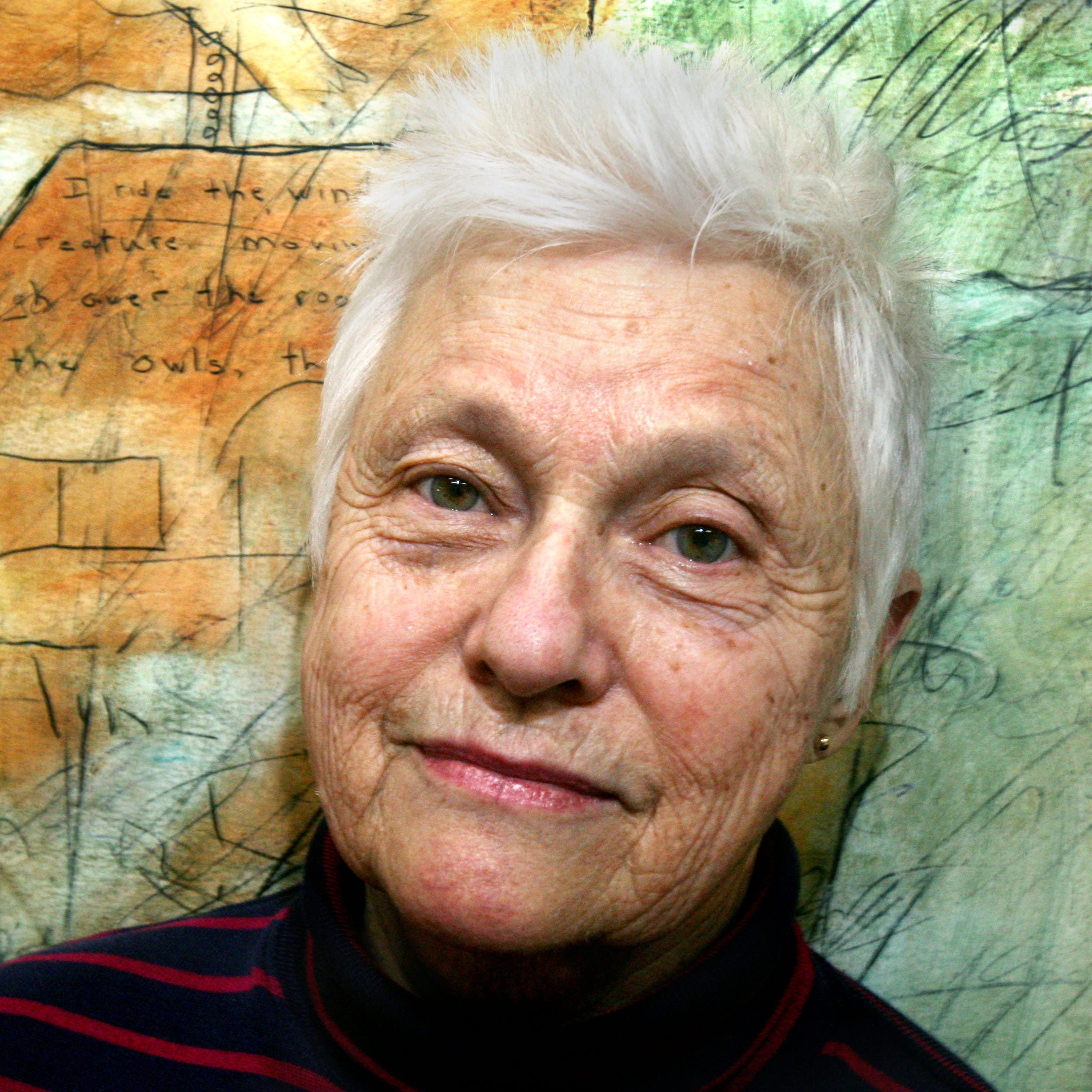 Painter Lois Main Templeton, known for pushing Indianapolis' art scene forward, has died