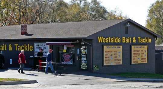 Westside Bait & Tackle, Nov. 7, 2018.  The family-run shop, which opened in 1951, is closing at the end of 2018.