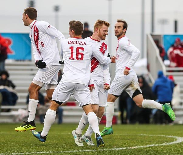 Photos: IU men's soccer defeats Maryland in Big Ten ...