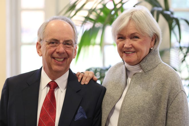 Paul and Betty Woolls have given Wabash College the institution's largest gift.