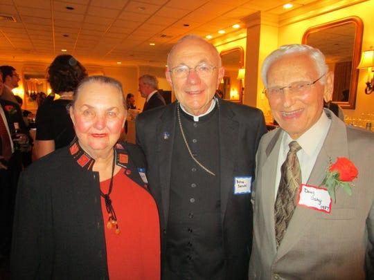 Calire Ashy, Bishop Douglas Deshotel and Doug Ashy
