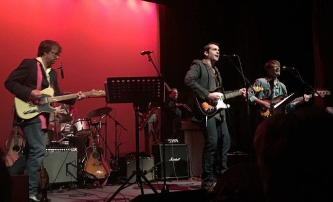 "Guitarist Blazye Viator, center, performs with a local version of The Band during their 2016 production of ""The Last Waltz"" at the Acadiana Center for the Arts."