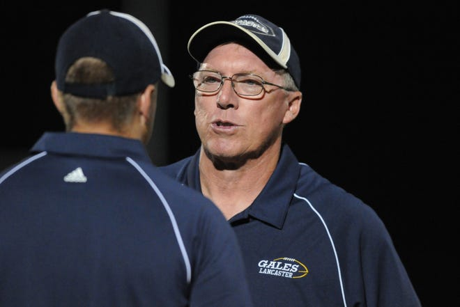 Lancaster's Rob Carpenter was named Ohio Capital conference-Ohio Division Co-coach of the Year after leading the Gales to a share of the league championship.