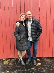 Father and daughter Steve and Lauren Pilon, seen on Friday Nov. 9, 2018, have expanded their plans for a new Mexican street food-inspired eatery called El Àrbol, which they will open at the former site of the Yum Yum Tree in Brighton this summer.